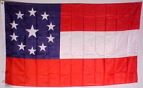 11 star 1st national flag