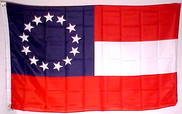 13 star 1st national flag