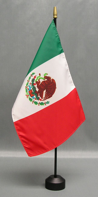 Mexican Desk Flag