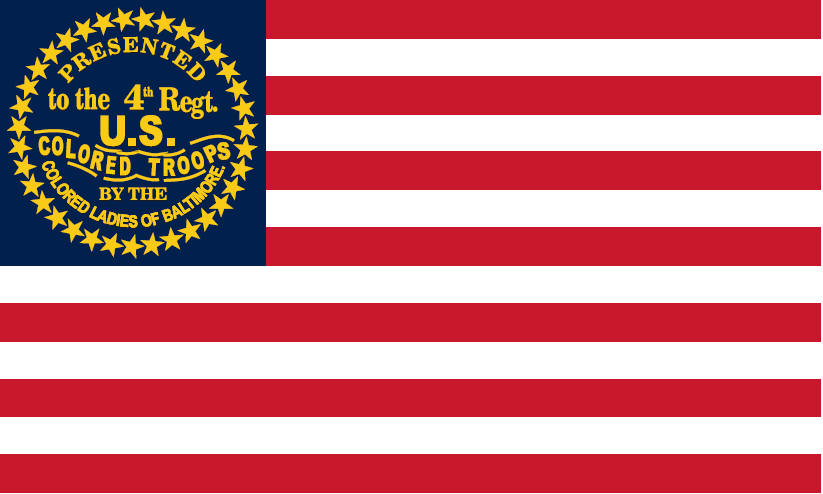 4th Regiment US Colored Troops Flag