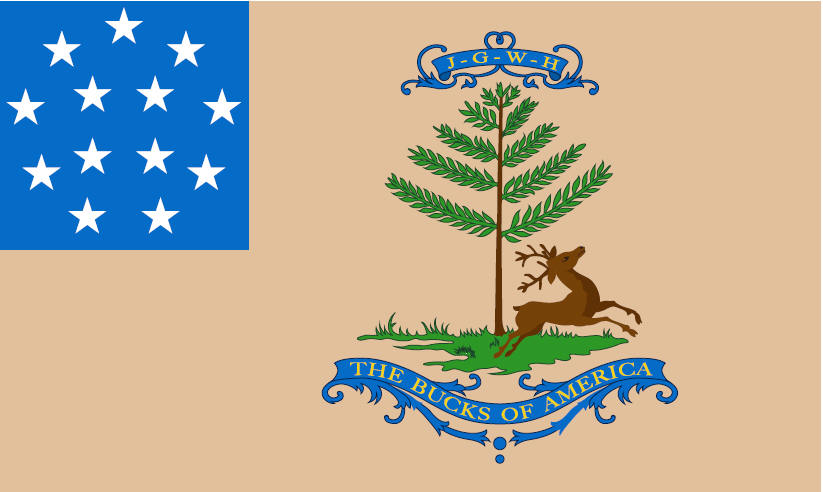 Bucks of America Flag