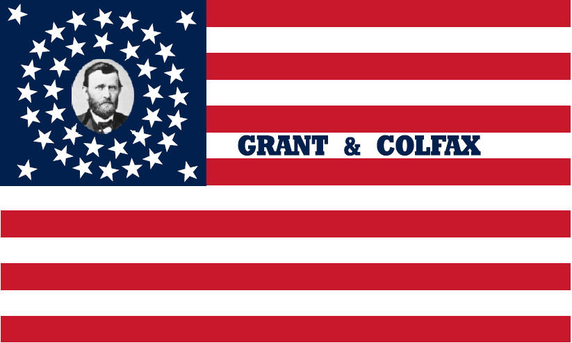 Grant and Colfax Campaign Flag