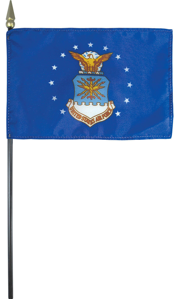 Air Force Desk Flag