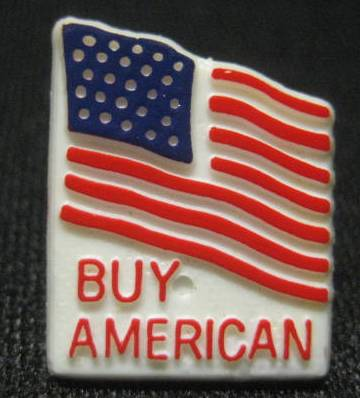 Buy American Lapel Pin