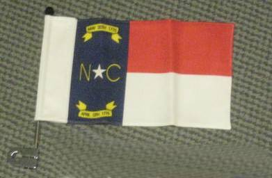 North Carolina Bike Flag