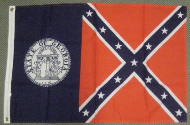 Old Georgia State Flag
