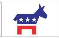 Democrat Donkey Flag