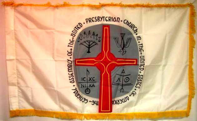 United Presbyterian Church Flag