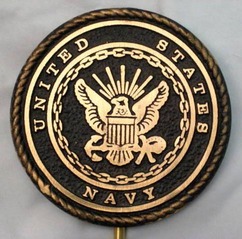 Navy Flag Holder