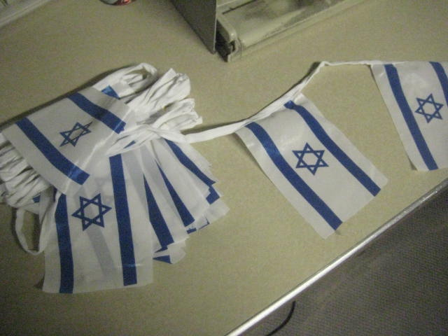 Israel Flag String