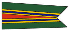 "Government specification Meritorious Unit Commendation Pennant, ""MUC"""
