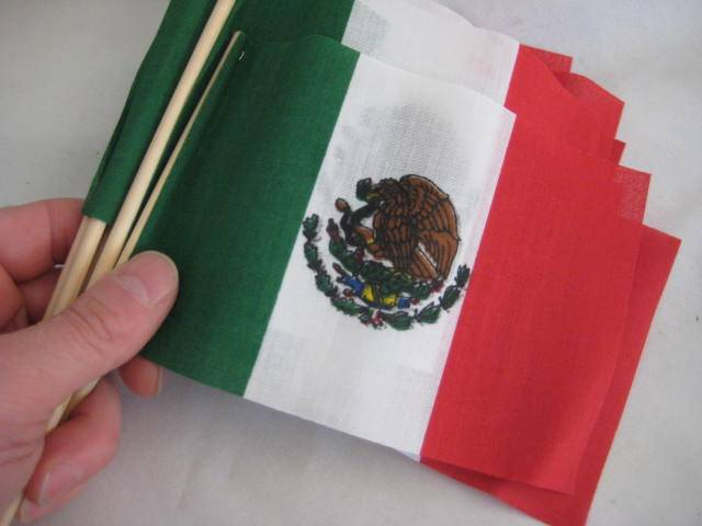Mexican Stick Flag