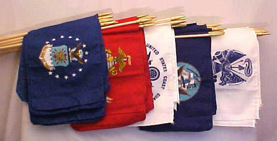 Armed Forces Stick Flags