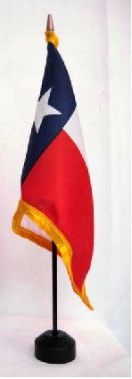 Texas Desk Flag